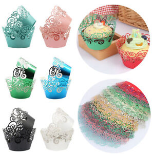 Details About Liner Party Supplies Baking Mold Muffin Cases Cake Paper Cups Cupcake Wrappers