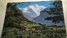 Switzerland Interlaken Gsteig un Wilderswil mit Jungfrau 2555 - posted 1955