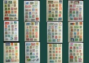 Great Stamp Collection From Germany Bayern Saar Leipzig Danzig Ext. Free Postage