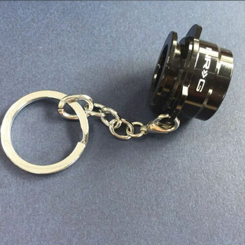 NRG Metal Auto Parts Key Chain Key Ring Quick Release Model Steering Wheel