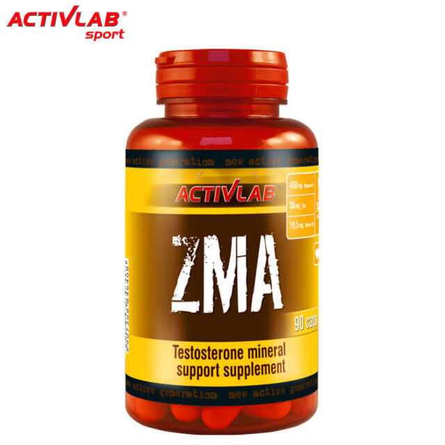 ZMA - Vitamin B6 Zinc Magnesium Supplement Anxiety Relief - Testosterone Booster eBay