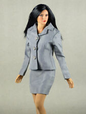 1/6 Scale Phicen, Play Toy, Hot Toys & NT - Female Clothing Secretary Gray Suit
