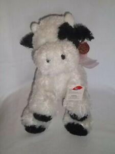 DANDEE-Dan-Dee-Plush-COW-White-Black-Collectors-Choice-Stuffed-Animal-Toy-Lg