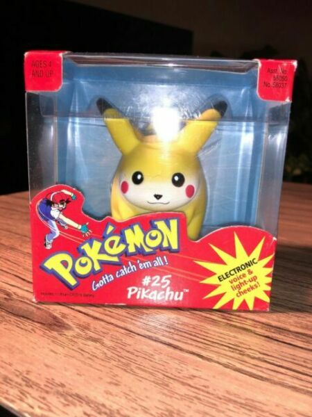 """Details about  /2/"""" Model Pikachu # 25 Pokemon Action Figures Figurines Toys Picture Pose Series"""