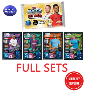 Mega Tin 2020 Card List.Details About Match Attax 2019 20 19 20 Full Set Of Mega Tin Cards Multi Buy Discount