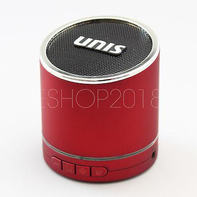 Blue Hi-Bass Wireless Portable Bluetooth Mini HiFi Speaker Boombox for iPhone