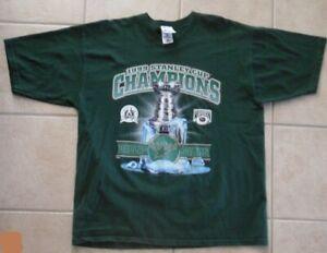 De Coleccion Dallas Estrellas Tee 1999 Campeones De La Copa Stanley Grafico Camiseta Nhl Hockey Xl Ebay