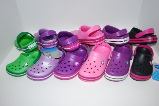 Crocs Kids Unisex Crocband II Light Grey//Volt Green 6-7 M US Toddler Toddler//Little Kid