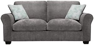 Superb Details About Argos Home Tammy 2 Seater Fabric Sofa Bed Charcoal Machost Co Dining Chair Design Ideas Machostcouk