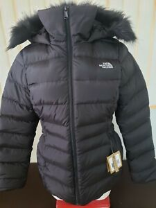NWT Womens The North Face TNF Gotham Jacket II 550-Down Winter Jacket - B/WNWT W