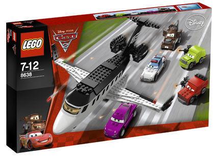 LEGO® Cars 2 Agenten-Jet 8638 Jagd nach dem Agenten-Jet 2 ab 7 Jahren neu & ovp 50174f