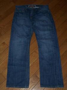 Bleu 30 Slim L coupe Levi's indigo Jeans 34 droite 514 Vintage L q41nBw8C
