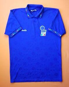 b71a43a3bcc 4.5 5 ITALY ITALIA 1992 1993 FOOTBALL SOCCER HOME SHIRT JERSEY ...
