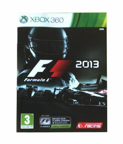 F1 2013 (Microsoft Xbox 360, 2013) - US Version