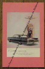 Carte format CPSM,publicité Cadillac Fleetwood sixty Special , 1960