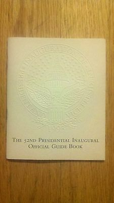1993 President Bill Clinton 52nd Presidential Inaugural Official Guide Book