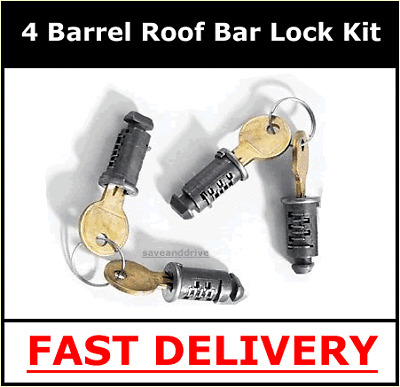 Mont Blanc Lock Kit K-Locks Klocks For Roof Bars
