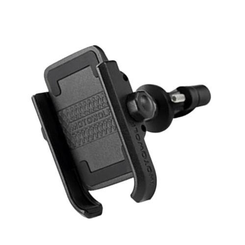 """6.6/"""" Cellphone Black Motorcycle Bike Hadlebar Phone Holder for 4.7/"""""""