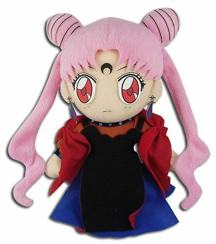 Great Eastern Sailor Moon R Black Lady Stuffed Plush Toy
