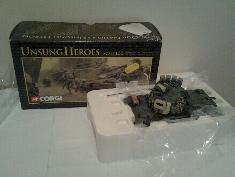 Corgi unsung heroes Vietnam war  m48 a3 tank in with box