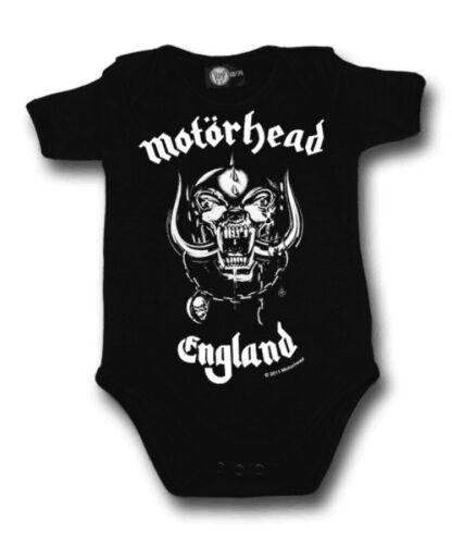 Lizenziert Motorhead Baby Band Weste Alternative Goth Schaukel Punk schwere