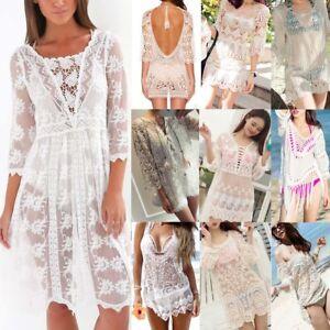 Sexy-Women-Lace-Crochet-Bikini-Cover-Up-Swimwear-Bathing-Suit-Summer-Beach-Dress