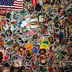 200-Skateboard-Stickers-bomb-Vinyl-Laptop-Luggage-Decals-Dope-Sticker-lot-cool