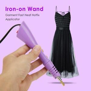 Fast-Heated-Iron-on-Wand-Heat-fix-Tool-Garment-Fast-Heat-Hotfix-Applicator