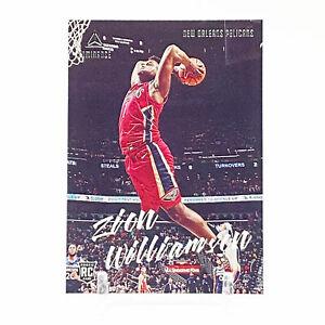 2019-20 Panini Chronicles Luminance Basketball Zion Williamson Rookie