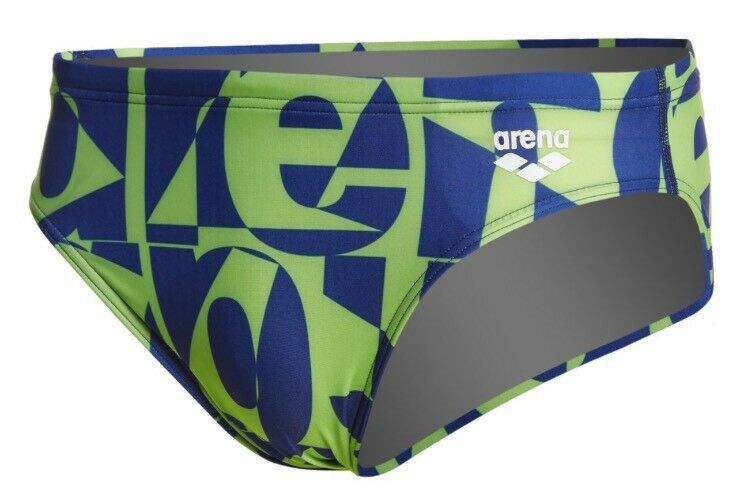 Arena 2A85876 M Gallery Brief F Navy Leaf Speedo Size 30 Small
