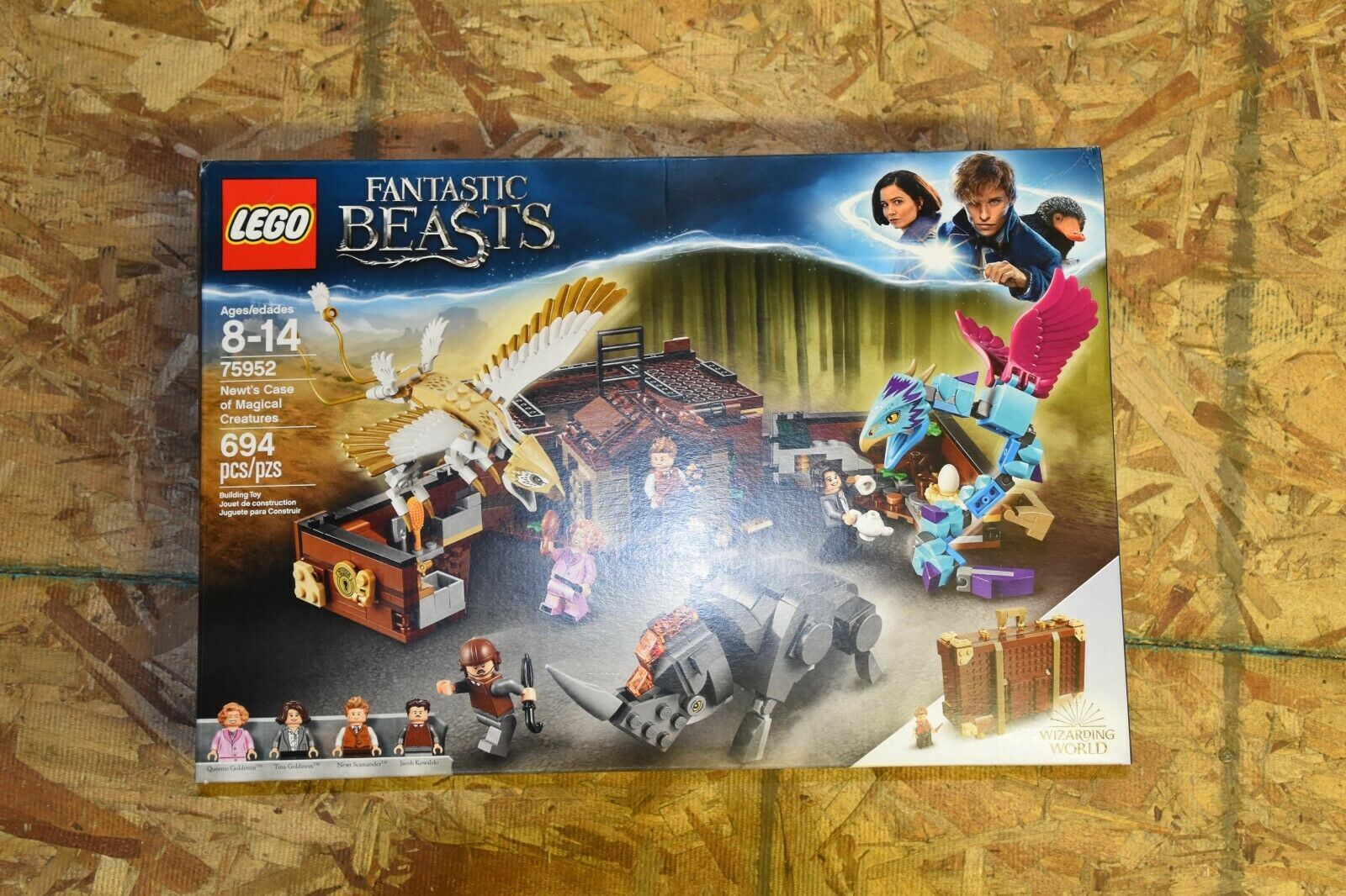 + X-MAS  Lego 75952 HARRY POTTER FANTASTIC BEASTS Newt's Case Magical Creatures