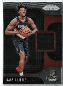 2019-20-Panini-prizm-sensational-swatches-jersey-relic-Nassir-Little-Rookie-RC