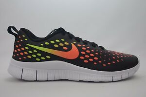 the best attitude 7a6ef 4ab8a Image is loading Nike-Free-Express-GS-Black-Multi-Youth-Size-