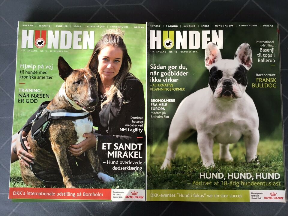Hunden, Dansk kennel klub, Magasin