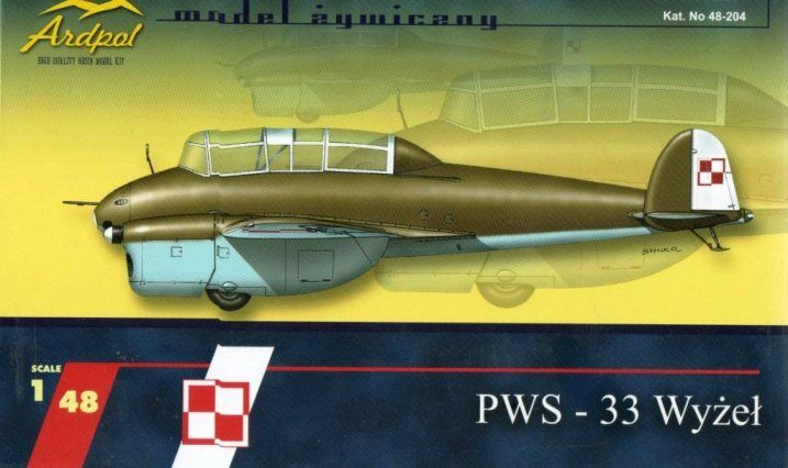 PWS 33 WYZEL (POLISH AF 1939 MARKINGS) 1 48 ARDPOL (pzl)