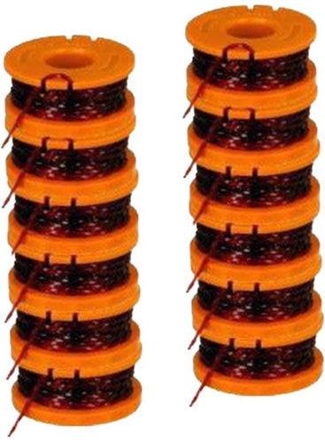 Worx WA0010 bobine de ligne pour coupe gazon//déligneuse 12-Pack environ 3.05 m 10 ft