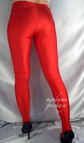 Spandex piedini in Alto Opaco Xs Sexy Madame Leggero Lucido con xxxl Rosso Fantasy UCw0Z