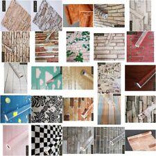 10m x45cm selbstklebende Folie Tapete dekor Folien Steine 3056 D1