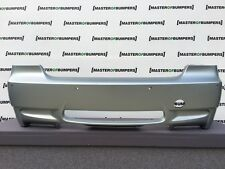 BMW 3 SERIES M3 E92 E93 2008-2013 REAR BUMPER IN SILVER FROZEN GENUINE [B837]