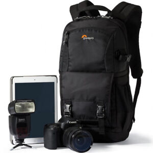 New-Lowepro-Fastpack-BP-250-AW-II-Camera-Backpack-Case-for-DSLR-Free-Shipping