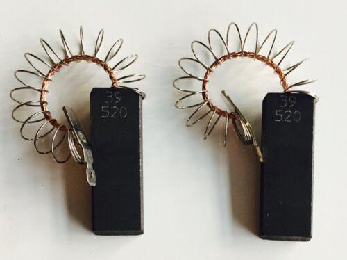 2x MOTORE di carbone Lavatrice Bosch Siemens 154740 0015 4740 fonte privilegio ORIG