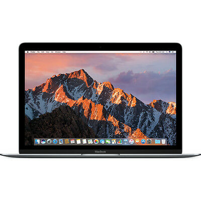 "Apple 12"" MacBook (Mid 2017, Space Gray) MNYG2LL/A"
