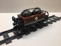 Lego Custom Limestone Car For 10194 Emerald Night. Very Nice All Parts