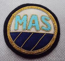 MAS Midland Airport Services Ground Crew Wire Cap Badge