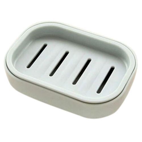 Soap Dispenser Dish Case Holder Container Box for Bathroom Travel Carry CasRKFS
