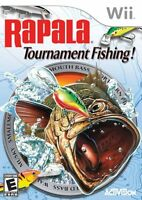 Rapala Tournament Fishing (wii, 2006) New, Sealed
