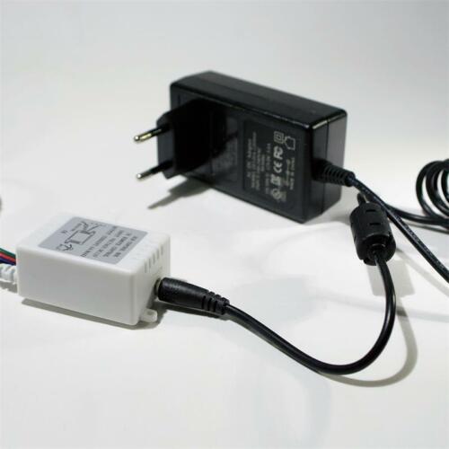Fernbedienung Lichtleiste 8,38€//m 5m RGB LED Komplettset Lichtband flexibel