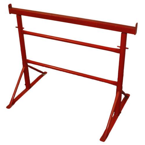 5 x Size 2 Adjustable Steel Builders Trestle Trestles Band Stands