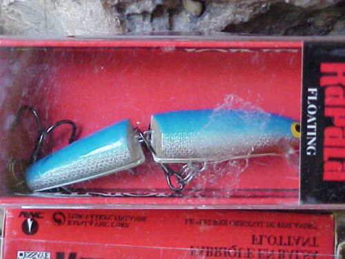 """Rapala 2 3//4/"""" Jointed Minnow J07 B in BLUE for Bass//Pike//Walleye//Trout//Perch"""