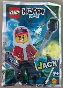 791902 ORIGINAL LEGO Hidden Side Possessed Pizza Delivery Man Minifigure